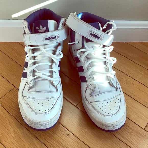 old school adidas high tops| flash